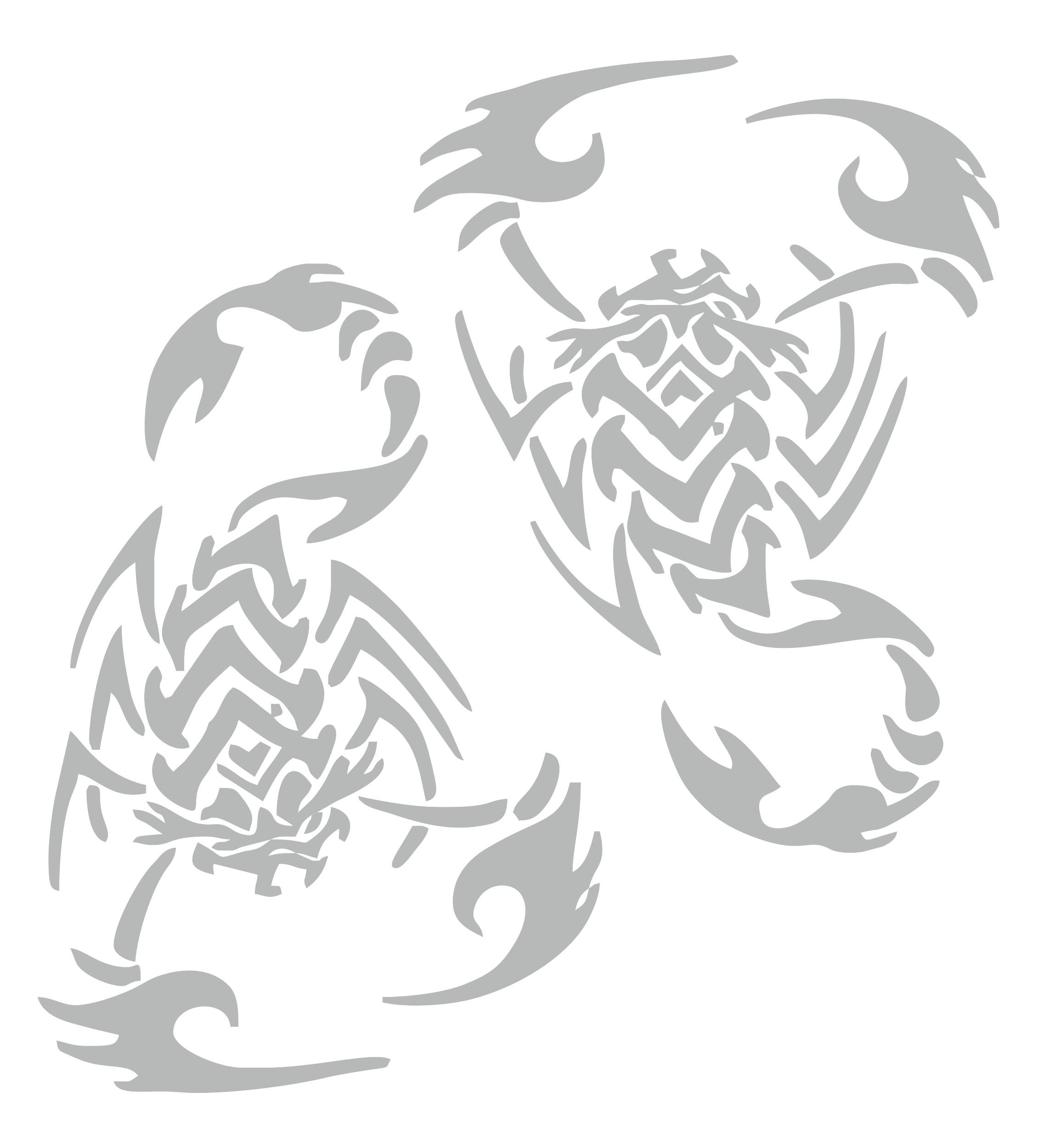Aufkleber spiegel und car tattoo skorpion schneller for Spiegel aufkleber