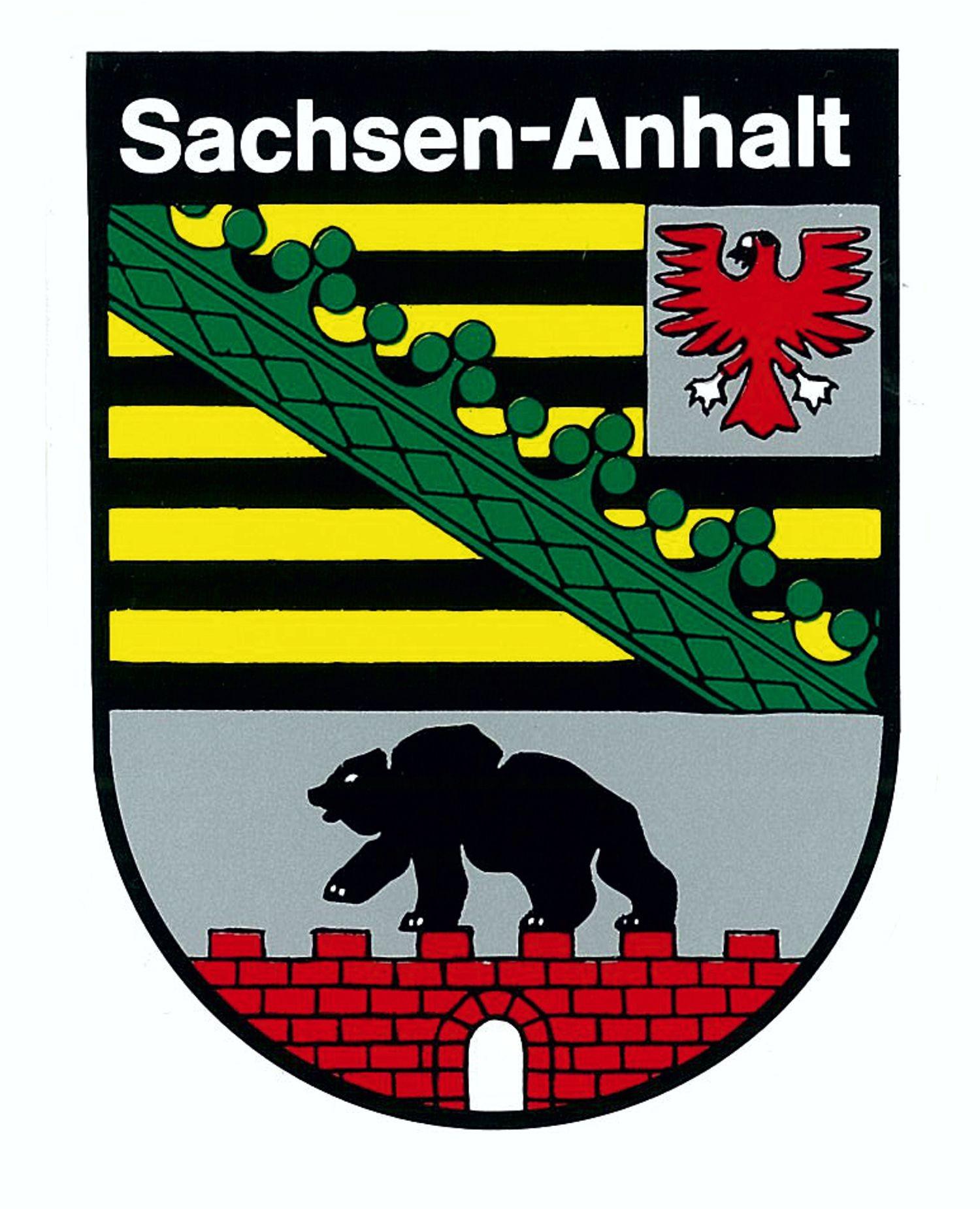 Sachsen Anhalt Wappen