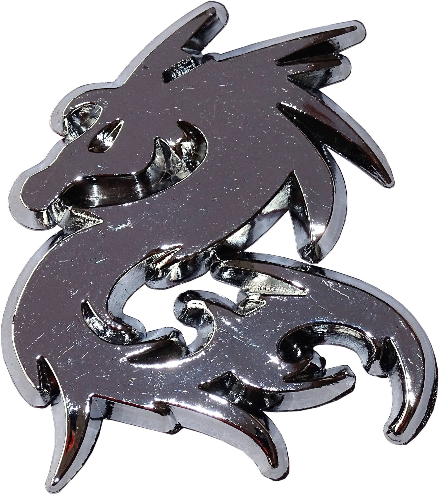 Relief-Chrome-Tattoo Drache 001