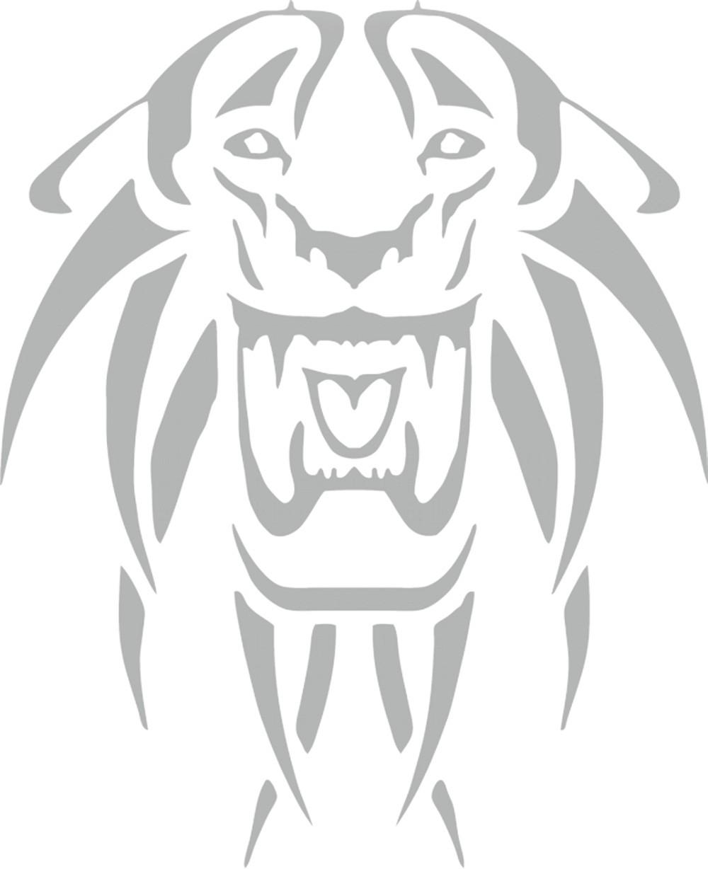 Aufkleber spiegel und car tattoo tiger schneller for Spiegel aufkleber