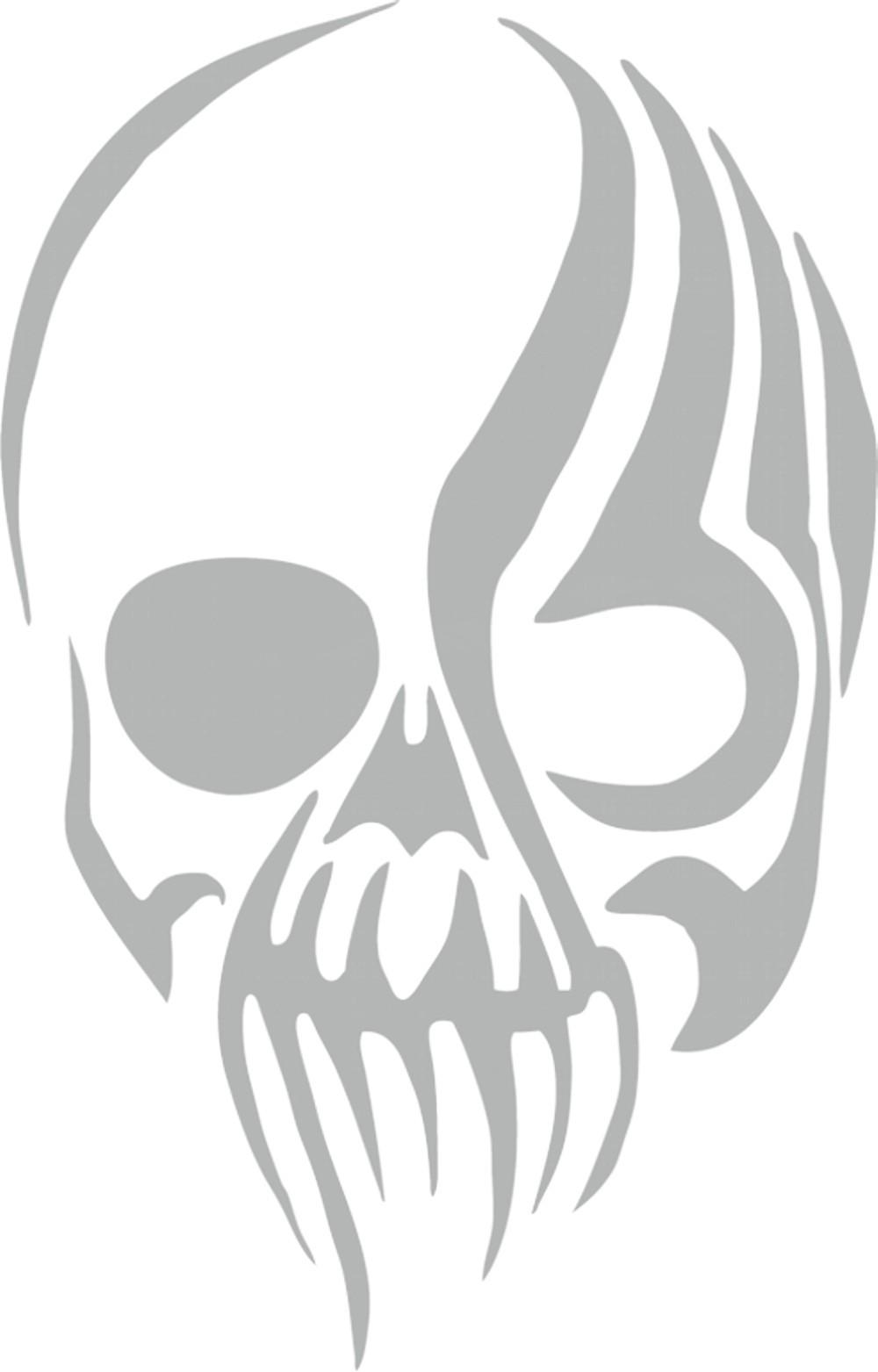 Aufkleber spiegel und car tattoo skull schneller for Spiegel aufkleber